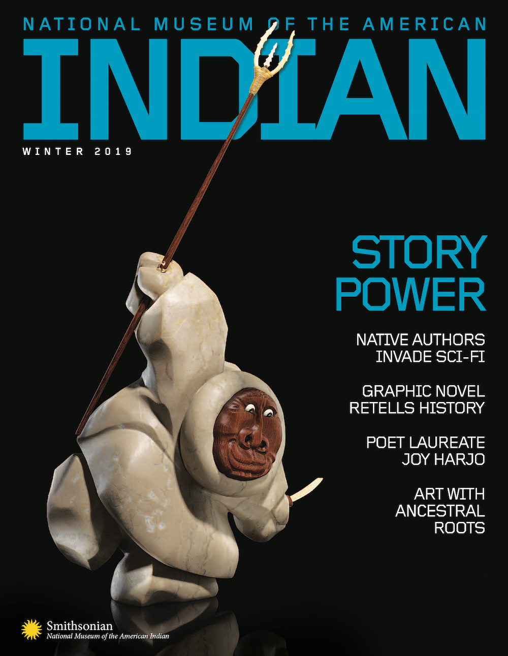 Cover of NMAI Winter 2019