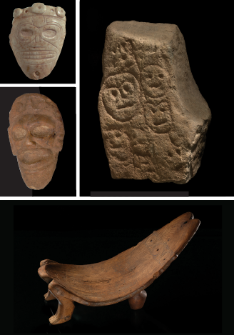 Taino exhibition pieces