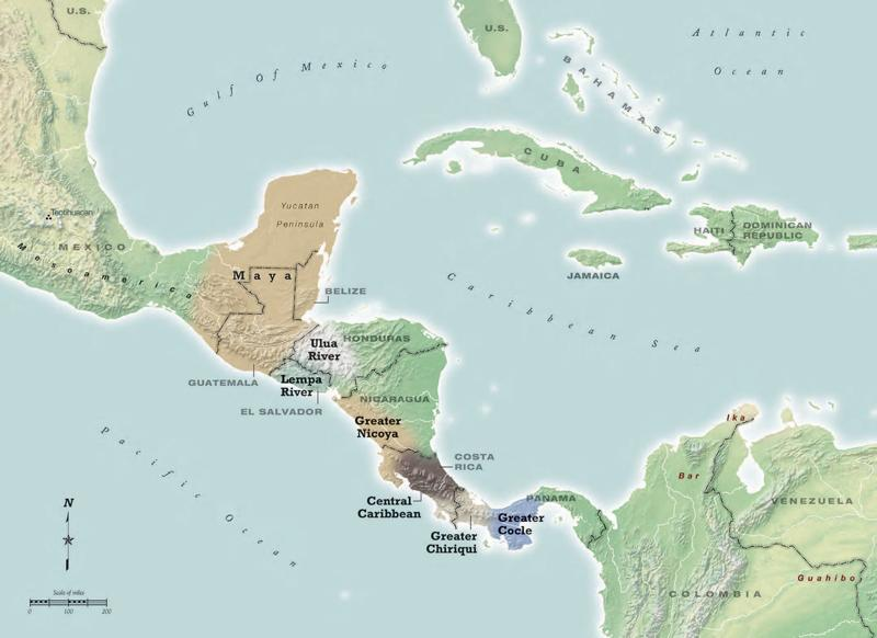 Trails Of Cultures Trade Routes Connected Ancient Central America