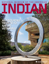 Cover of NMAI Fall 2020 Commemorative Issue