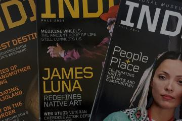 Display of NMAI Magazines