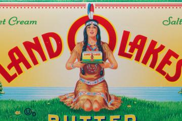 LAND O'LAKES BUTTER BOX, 2016