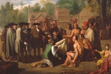 West, Penn's treaty with the Indians