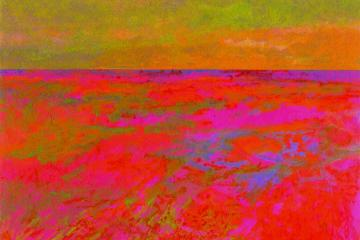Spirit Path, New Day, Red Rock Variation: Lake Superior Landscape